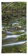 Woodland Stream - Monk's Dale Bath Towel