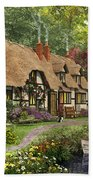 Woodland Walk Cottage Bath Towel