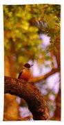 Woodpeckers Of Fort Simcoe Bath Towel