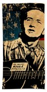 Woody Guthrie 1 Bath Towel