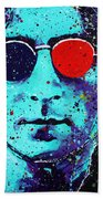 Working Class Hero II Hand Towel by Chris Mackie