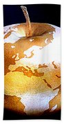World Apple Bath Towel