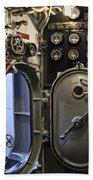 World War 2 Era Submarine Hatch - Pearl Harbor Hand Towel