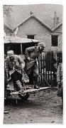 World War I: Ambulance Bath Towel