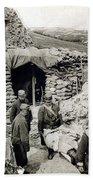 World War I: Wounded, 1918 Bath Towel