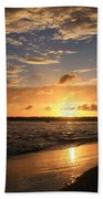 Wrightsville Beach Sunset Bath Towel