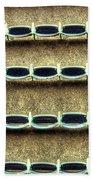 Wrigley Field Grandstand Seats From Upper Deck Bath Towel