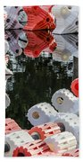 Yacht Club Buoys 4 Bath Towel