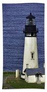 Yaquina Head Lighthouse Bath Towel