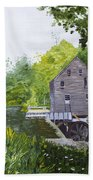 Yates Mill Summer Hand Towel