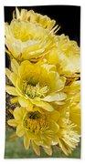 Yellow Bouquet Bath Towel