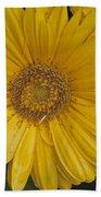 Yellow Daisy Hand Towel