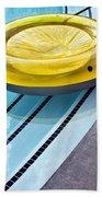 Yellow Float Palm Springs Bath Towel