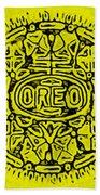 Yellow Oreo Bath Towel