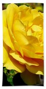 Yellow Rose IIi Bath Towel