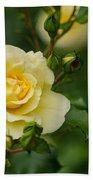 Yellow Roses Bath Towel