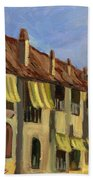 Yellow Shutters Costa Del Sol Bath Towel