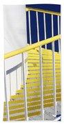 Yellow Steps 2 Bath Towel