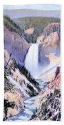 Yellowstone Canyon Yellowstone Np Bath Towel