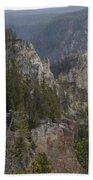 Yellowstone Grand Canyon Bath Towel