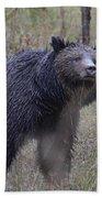 Yellowstone Grizzly Bath Towel