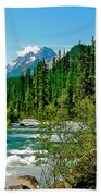 Yoho River In Yoho Np-bc Bath Towel
