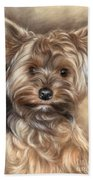 Yorkshire Terrier Bath Towel