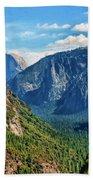 Yosemite Valley Overlook Bath Towel