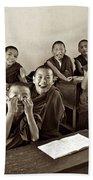 Young Monks Bath Towel