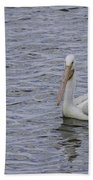 Young Pelican Bath Towel