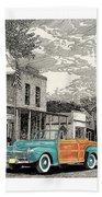 1946 Ford Sports Man Convertible  In Hillsboro N M  Bath Towel