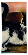 Your Pets Commission Me To Paint Bath Towel