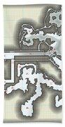 Yrchyn The Tyrant Kobold Lair Map Bath Sheet