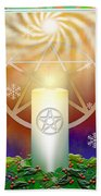 Yule Sun Bath Towel