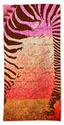 Zebra Art - T1cv2blinb Bath Towel