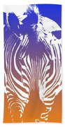 Zebra Crossing V6 Bath Towel