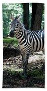 Zebra Forest 2 Bath Towel