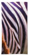Zebra Lines Bath Towel