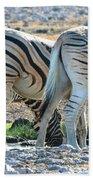 Zebra Lineup Bath Towel