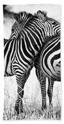 Zebra Love Bath Towel