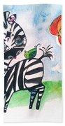 Zebra Zee  Bath Towel