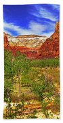 Zion Park Canyon Bath Towel