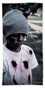 Zombie Kid Bath Towel