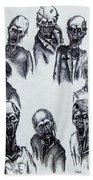 Zombies Bath Towel