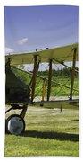 1916 Royal Aircraft F.e.8 World War One Airplane Photo Poster Print Bath Towel