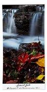 Autumnal Falls Bath Towel