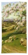Spring - One Of A Set Of The Four Seasons  Bath Towel