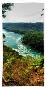 004 Niagara Gorge Trail Series  Bath Towel