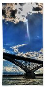 008 Peace Bridge Series II Beautiful Skies Bath Towel