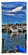 009 On A Summers Day  Erie Basin Marina Summer Series Bath Towel